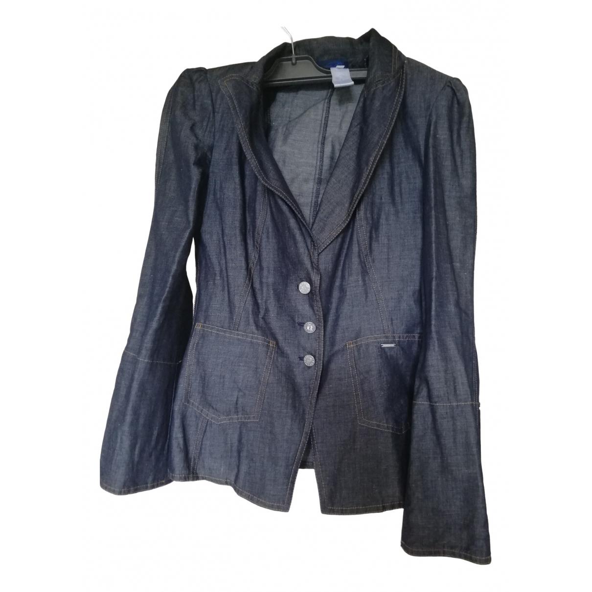 Kenzo \N Blue Denim - Jeans jacket for Women 36 FR