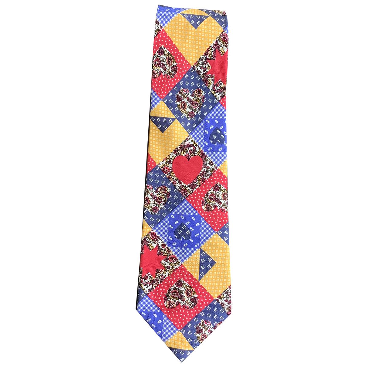 Kenzo \N Krawatten in  Bunt Seide