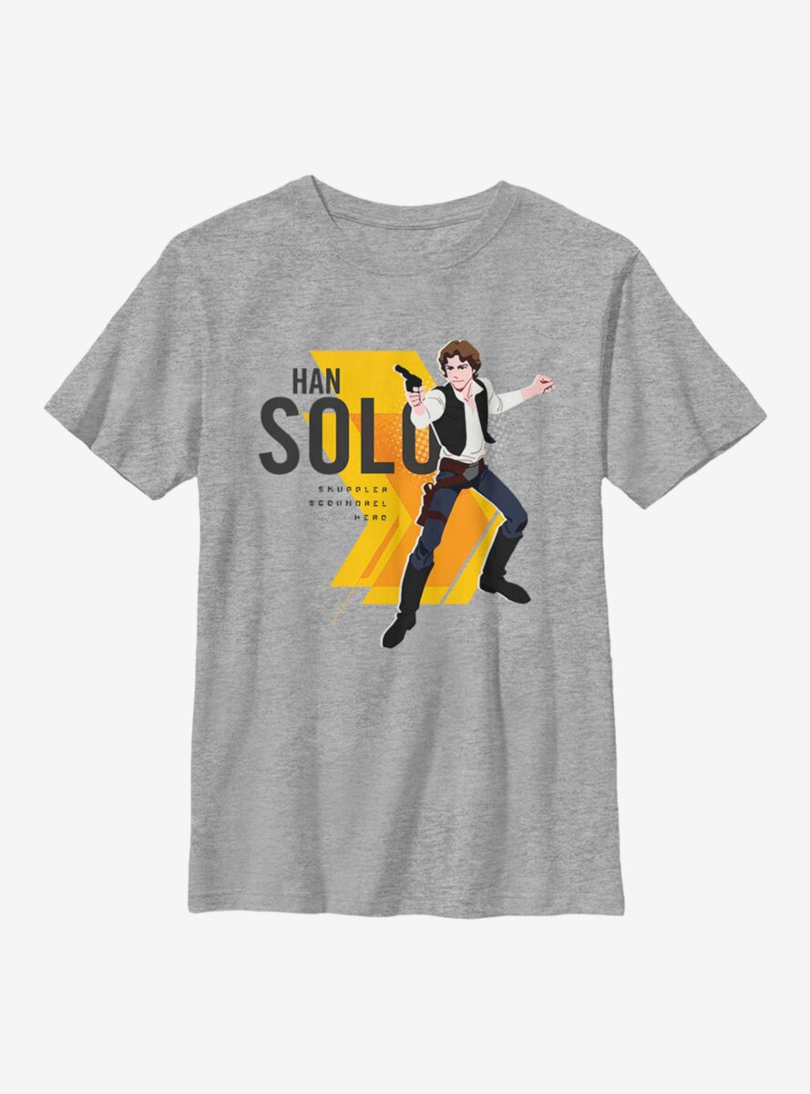 Star Wars Solo Blaster Youth T-Shirt