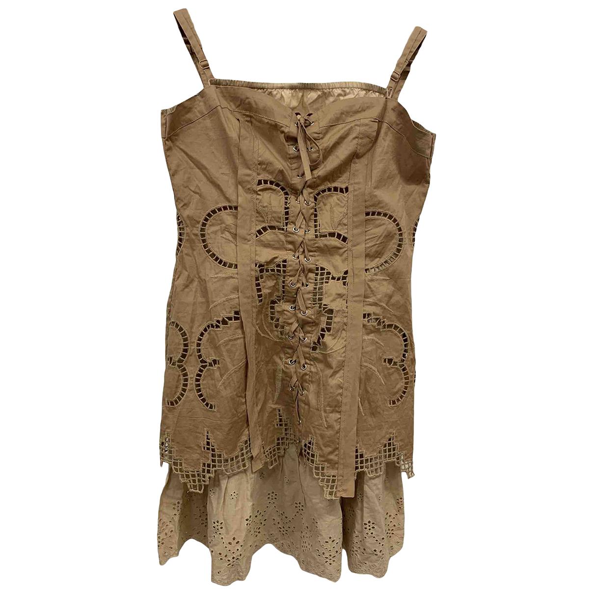 Silvian Heach \N Kleid in Baumwolle
