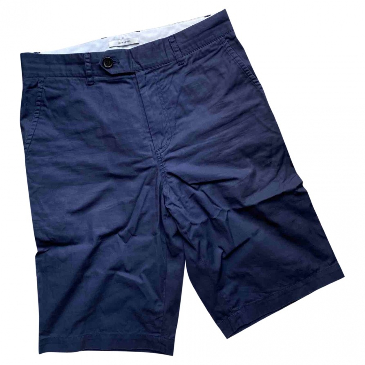 Adam Lippes \N Blue Cotton Shorts for Men 30 UK - US