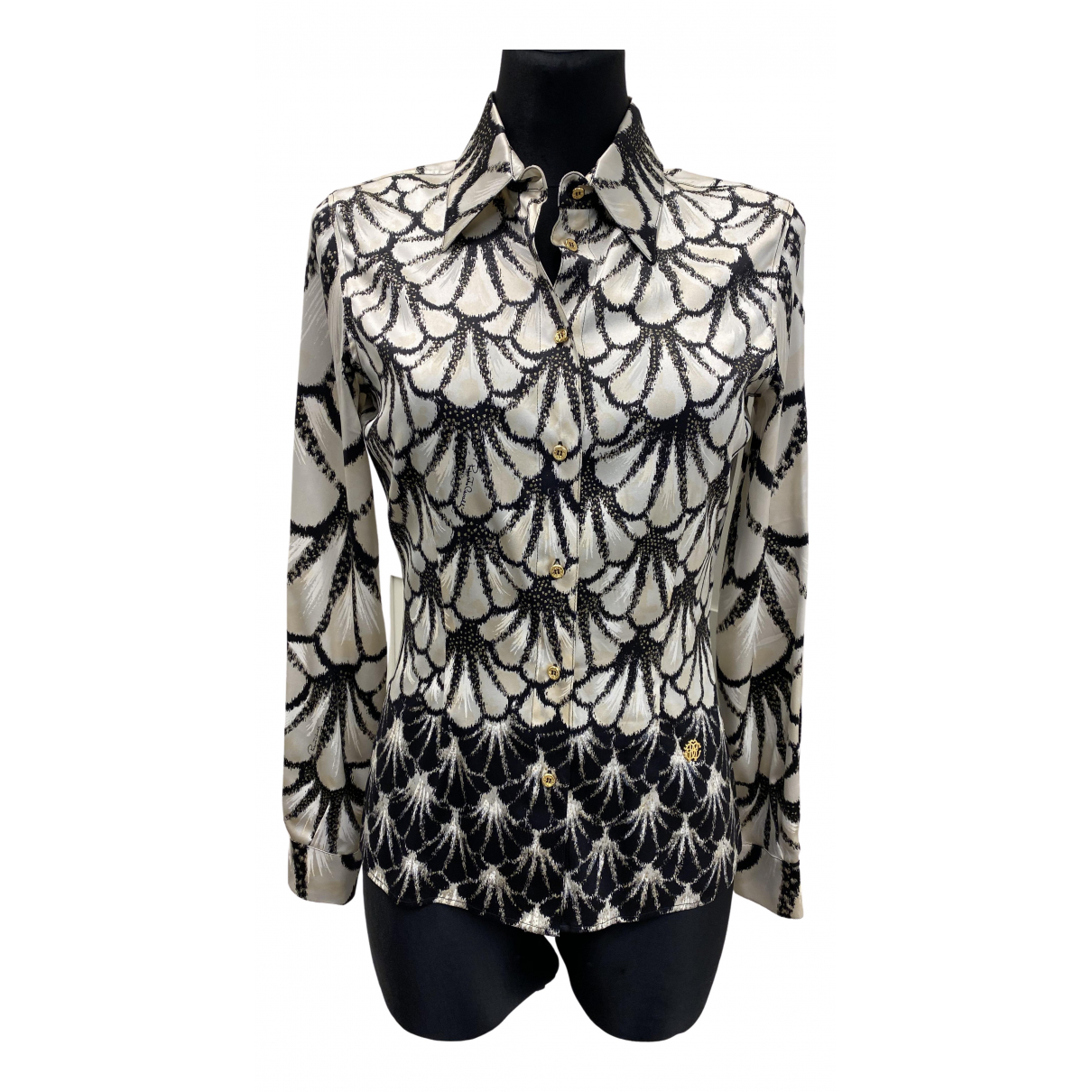 Roberto Cavalli \N Multicolour Silk  top for Women 40 IT