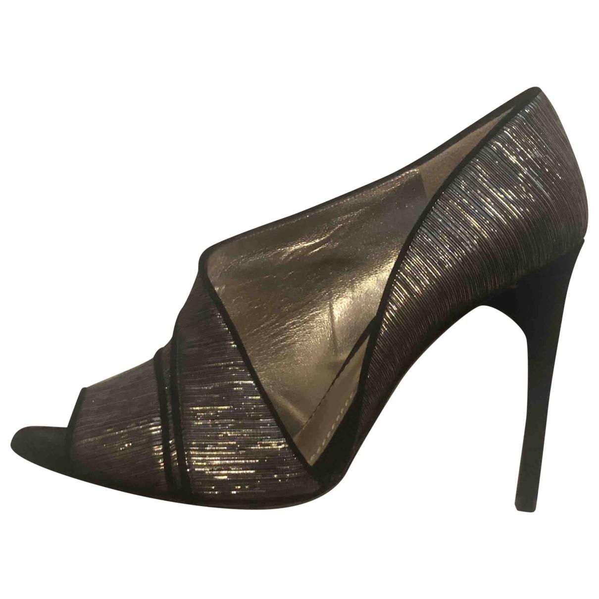 Dolce & Gabbana \N Metallic Cloth Heels for Women 39 EU
