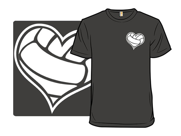 A Heart For Volleyball T Shirt