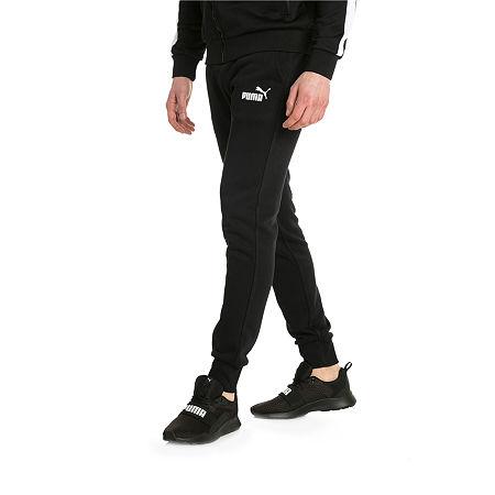Puma Mens Regular Fit Jogger Pant - Big and Tall, X-large Tall , Black
