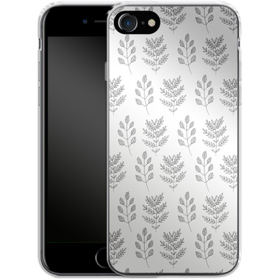 Apple iPhone 7 Silikon Handyhuelle - Botanic Studies 2 von Lucy Bohr