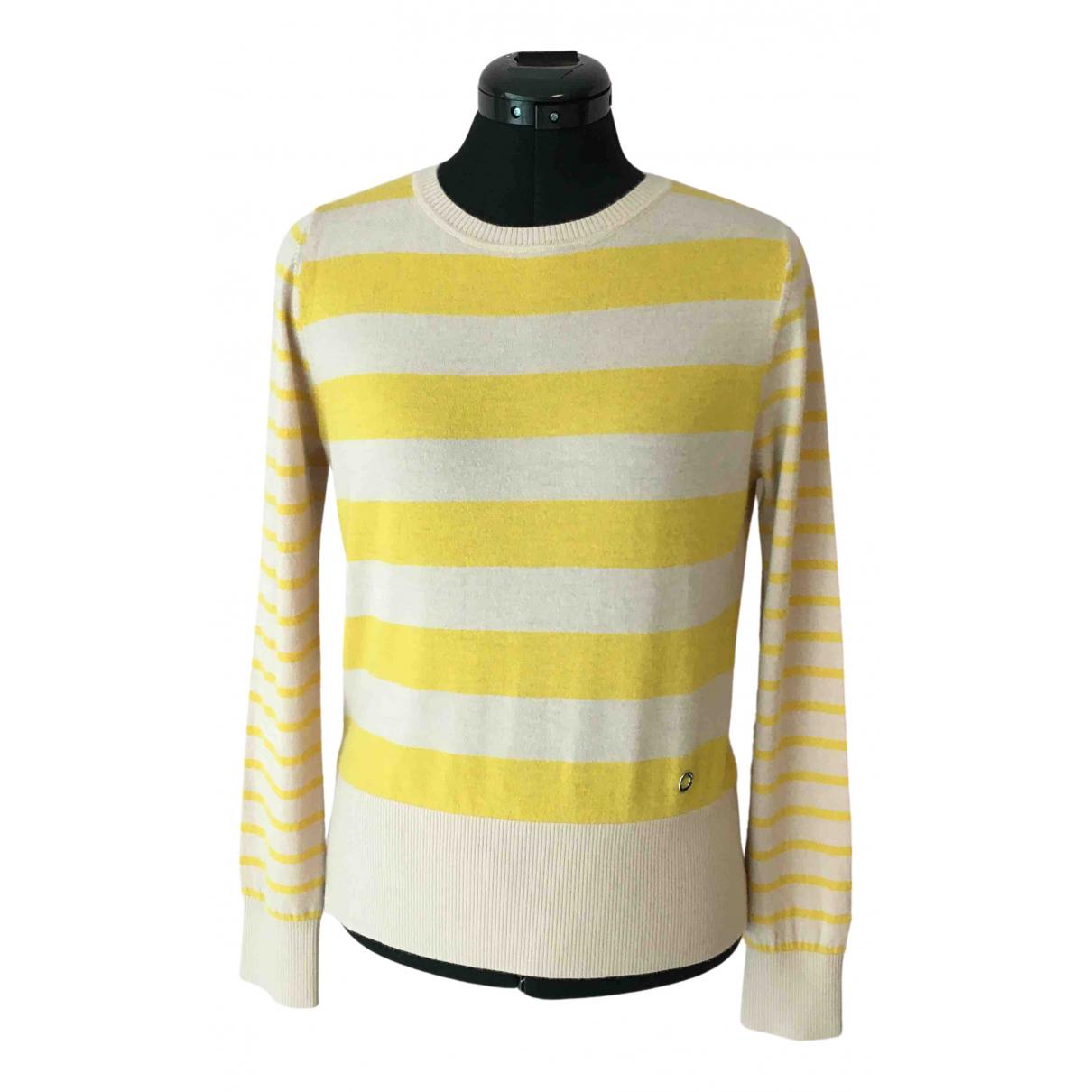 Loro Piana - Pull   pour femme en cachemire - jaune