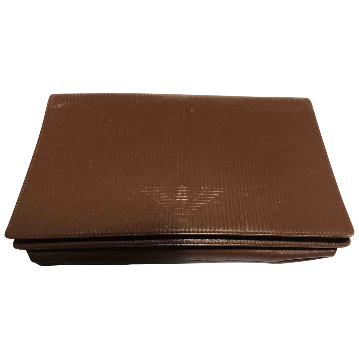 Giorgio Armani \N Brown Leather Purses, wallet & cases for Women \N