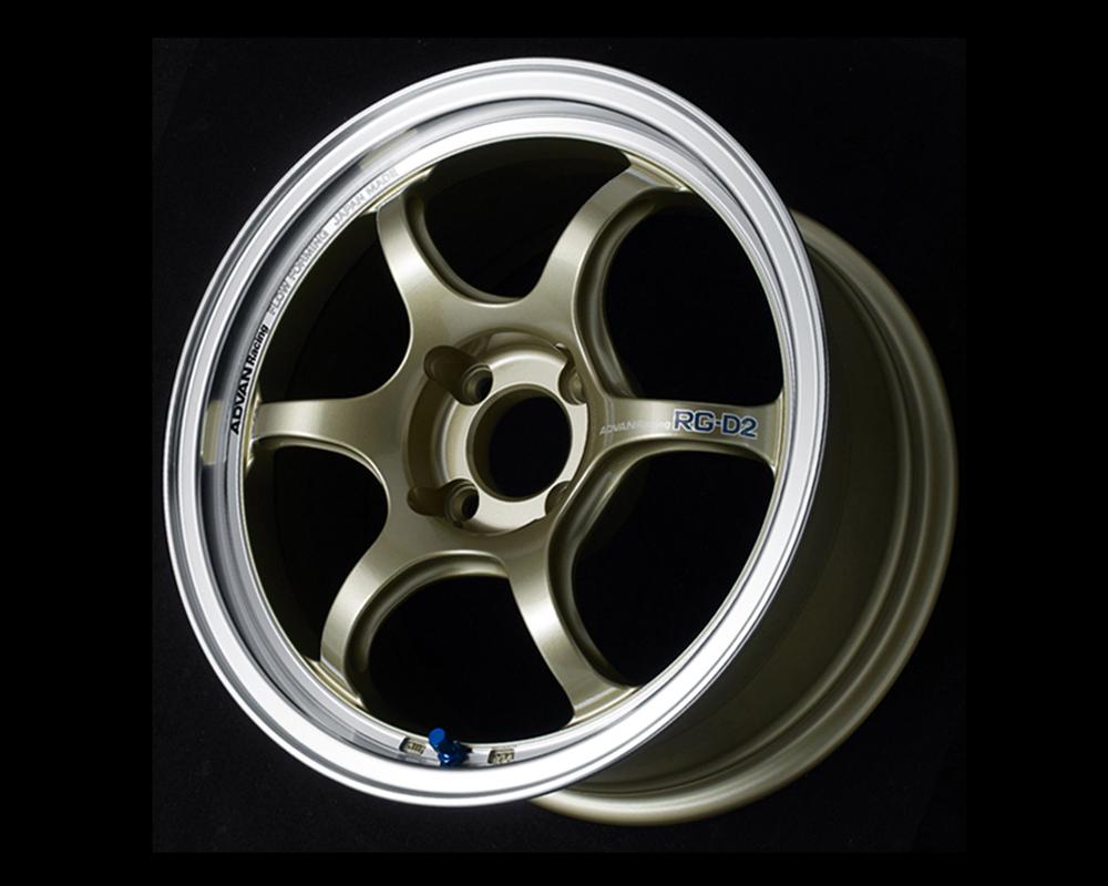 Advan RG-D2 Wheel 16x8 5x100 48mm Machining & Champagne Gold