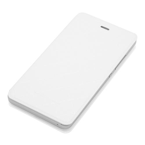 Leather Case Flip Cover Protective Holder Case For LEAGOO Z1 - White