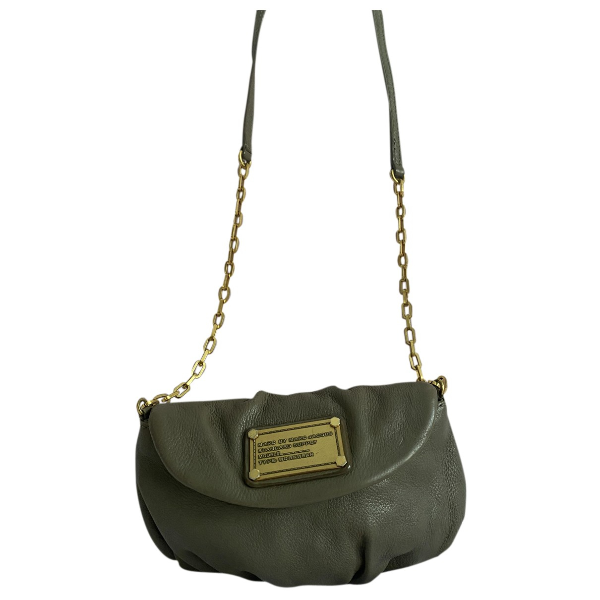 Marc By Marc Jacobs N Khaki Leather handbag for Women N
