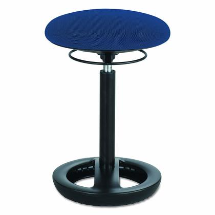 Safco Twixt® Active Seating Chair, Extended-Height - Blue