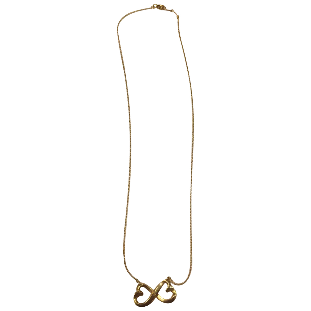 Tiffany & Co - Collier Tiffany Infinity pour femme en or jaune - dore