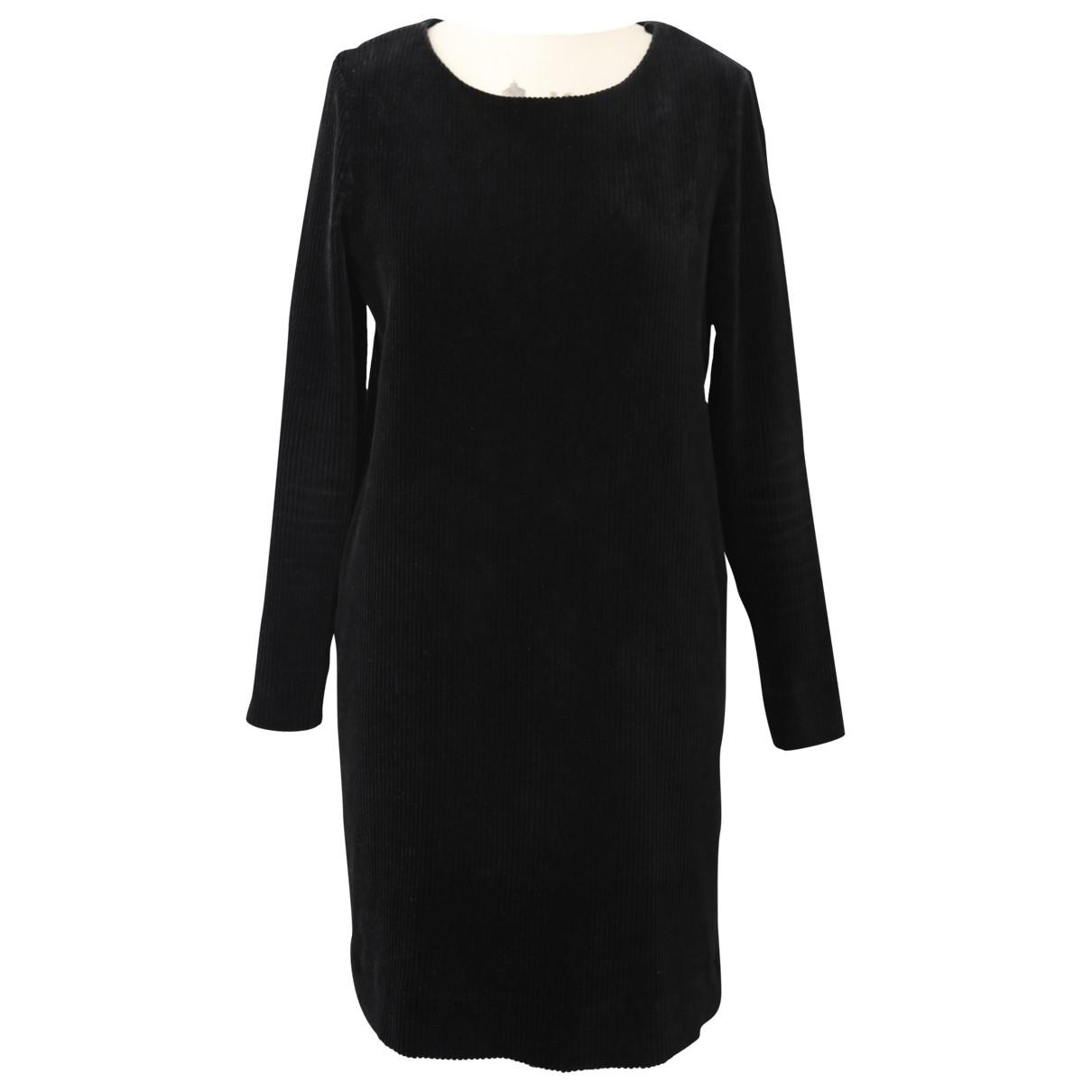 Cos \N Black Cotton - elasthane dress for Women S International