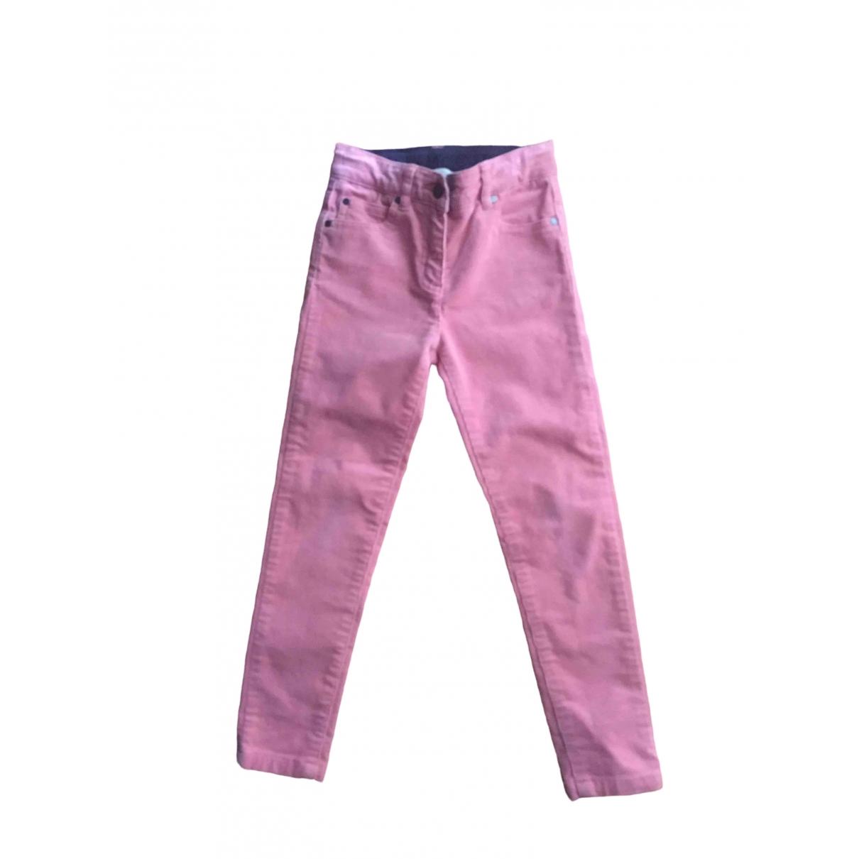 Stella Mccartney \N Pink Velvet Trousers for Kids 6 years - up to 114cm FR