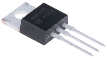 ON Semiconductor ON Semi MJE5742G NPN Darlington Pair, 8 A 400 V HFE:50, 3-Pin TO-220 (5)