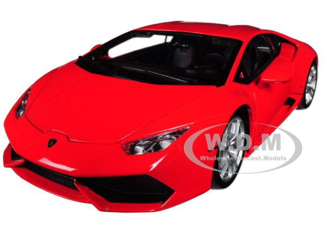 Lamborghini Huracan LP 610-4 Red 1/18 Diecast Model Car by Bburago