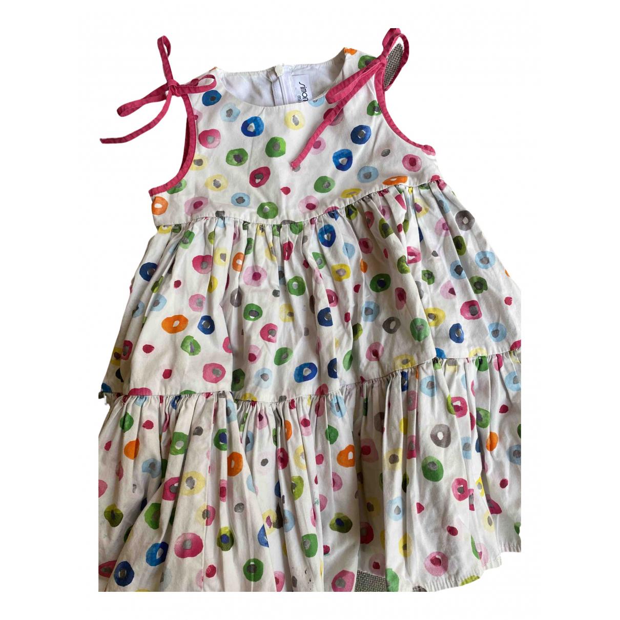 Simonetta \N Kleid in  Bunt Baumwolle