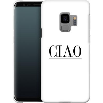 Samsung Galaxy S9 Smartphone Huelle - Just CIAO! von Erik Scholz