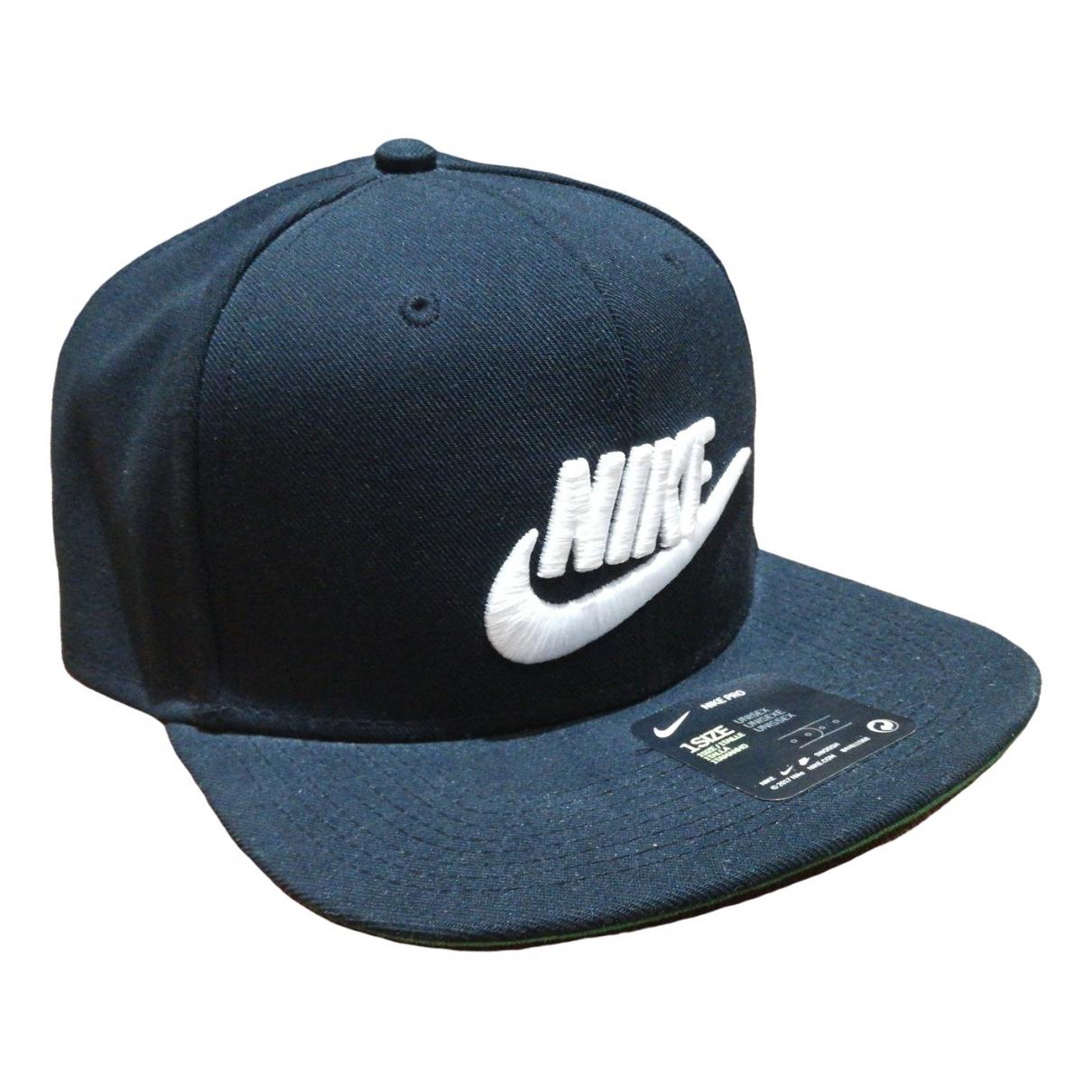 Nike - Chapeau & Bonnets   pour homme en coton - noir