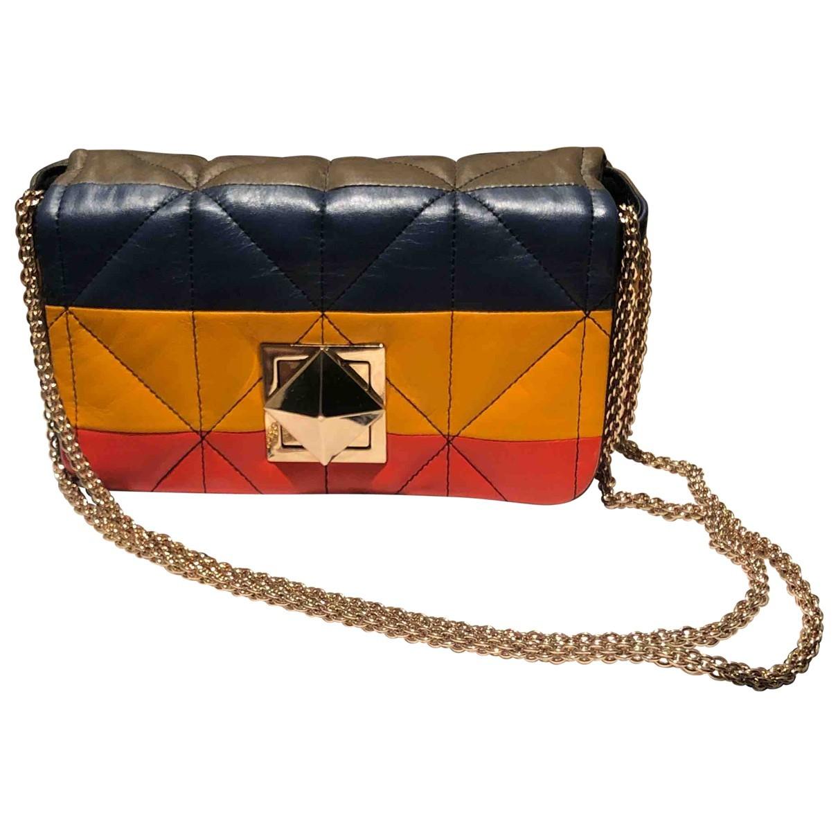Sonia Rykiel Copain Multicolour Leather handbag for Women \N