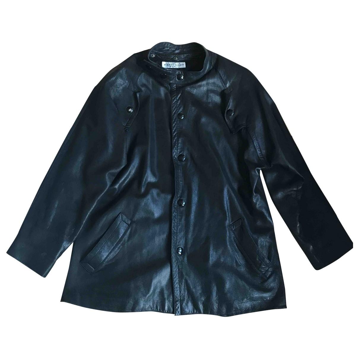Pierre Cardin \N Jacke in  Schwarz Leder