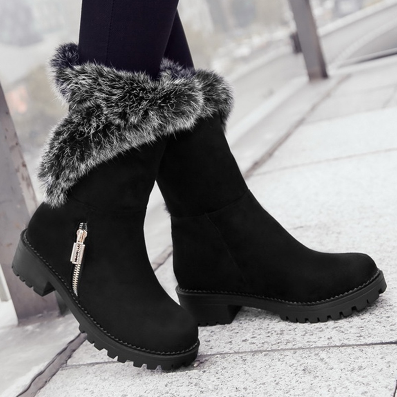 Ericdress Cute Furry Snow Boots