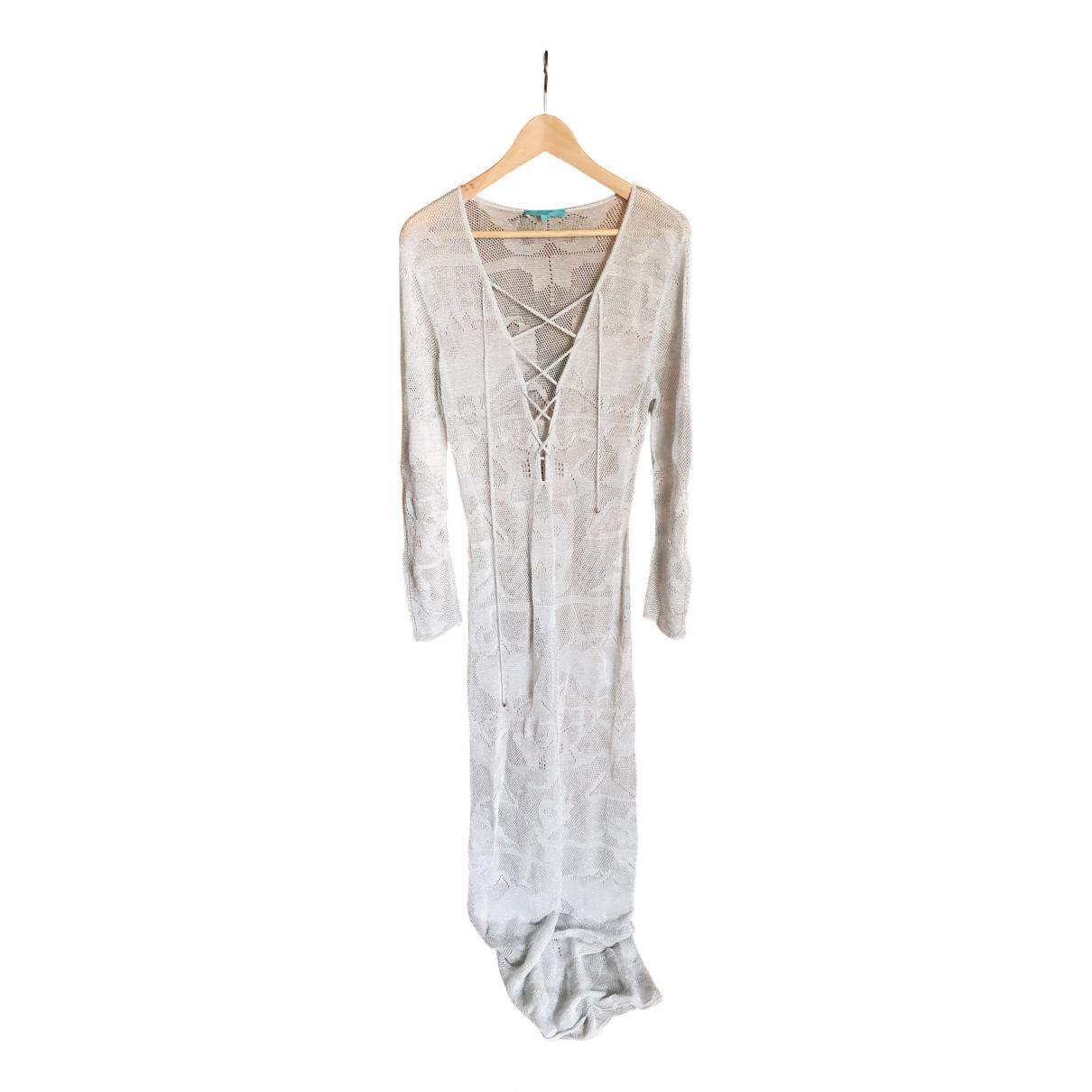 Melissa Odabash \N Kleid in  Silber Synthetik