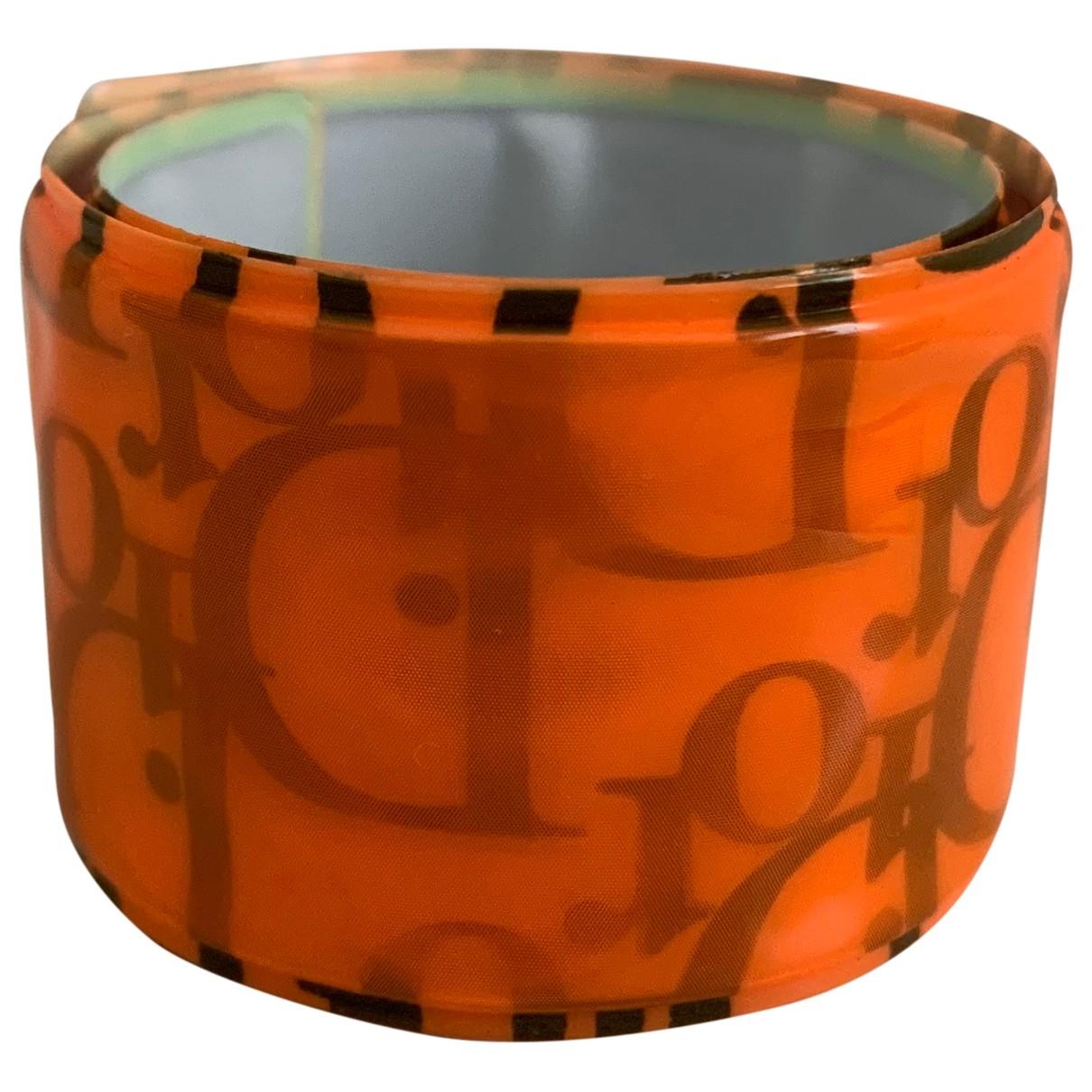 Dior Dior Oblique Armband in  Orange Kunststoff