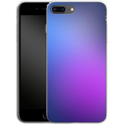 Apple iPhone 7 Plus Silikon Handyhuelle - Blueberry von #basic