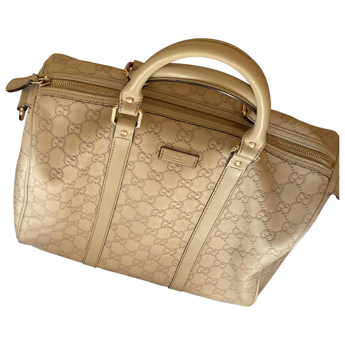 Gucci Boston Grey Cloth handbag for Women N