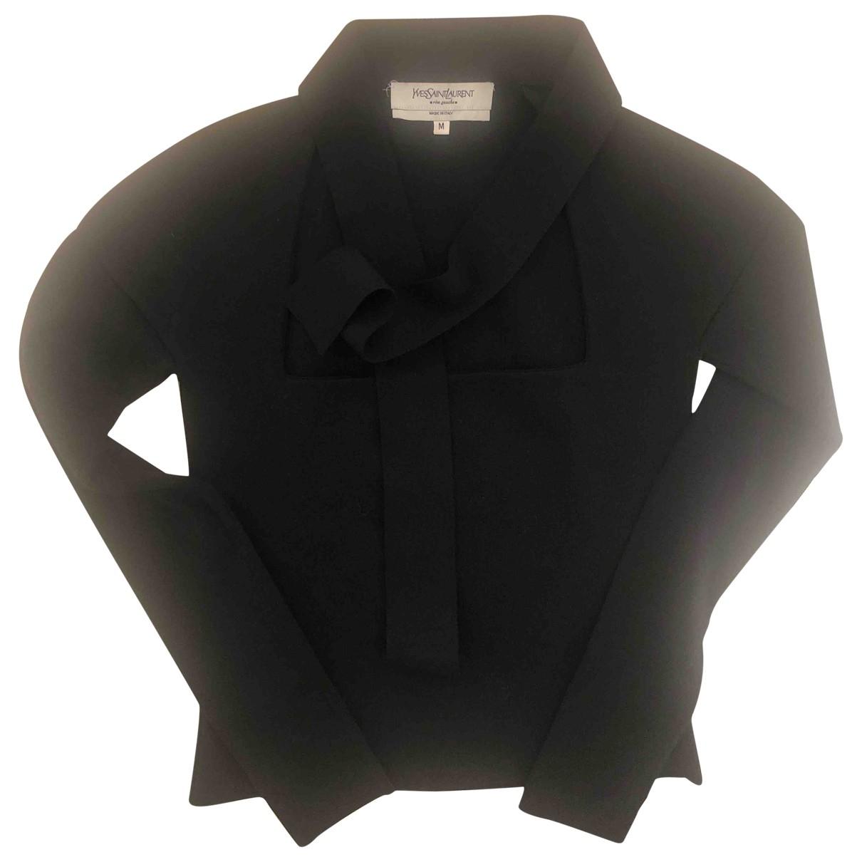 Yves Saint Laurent \N Black Wool Knitwear for Women 38 FR