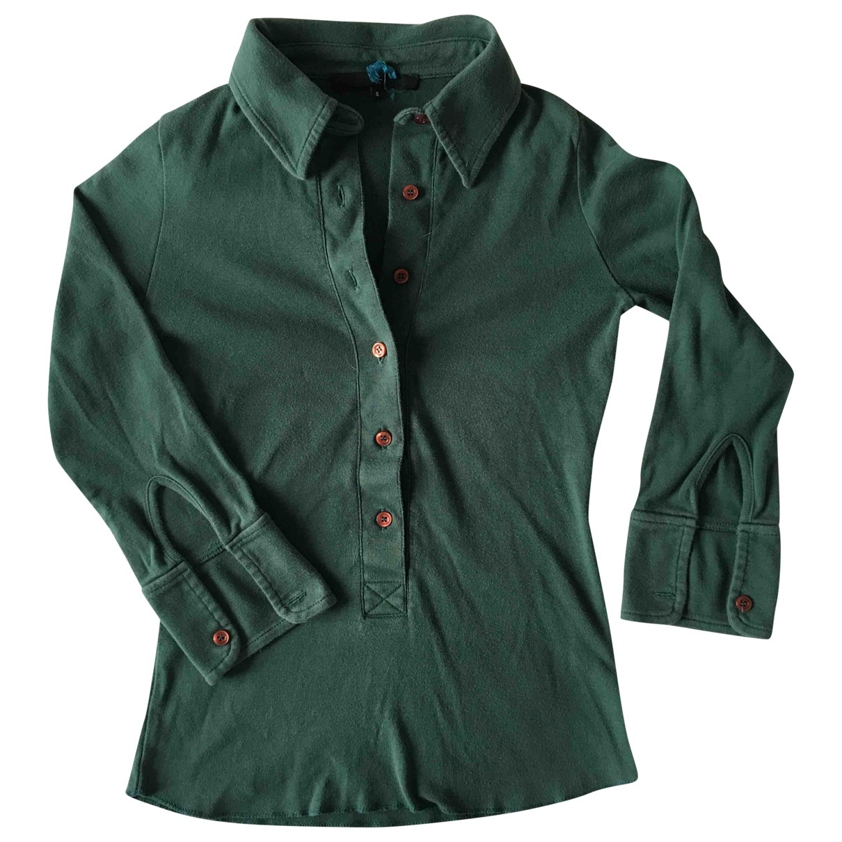 Isabel Marant Etoile - Top   pour femme en coton - vert