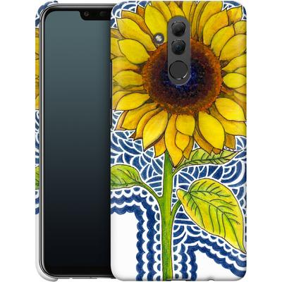 Huawei Mate 20 Lite Smartphone Huelle - Sunflower Drawing von Kaitlyn Parker