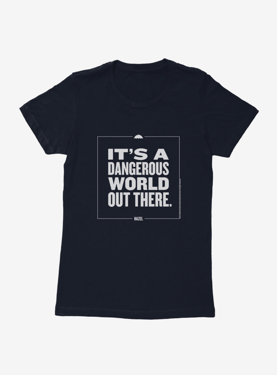 The Umbrella Academy Dangerous World Womens T-Shirt
