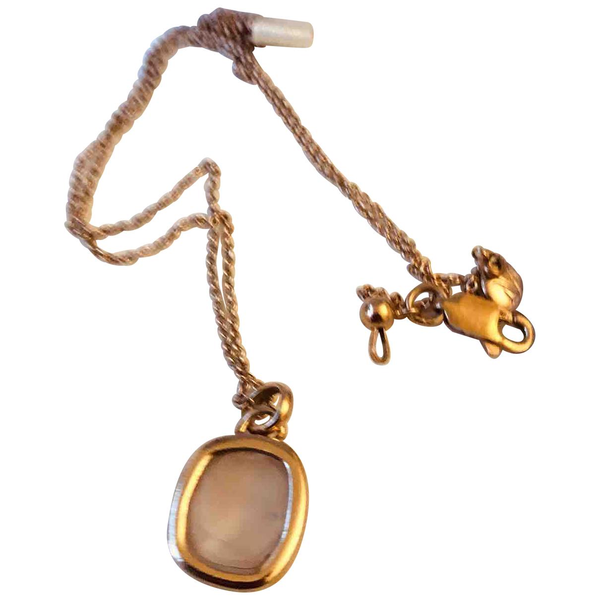 Monica Vinader N Pink Crystal pendant for Women N