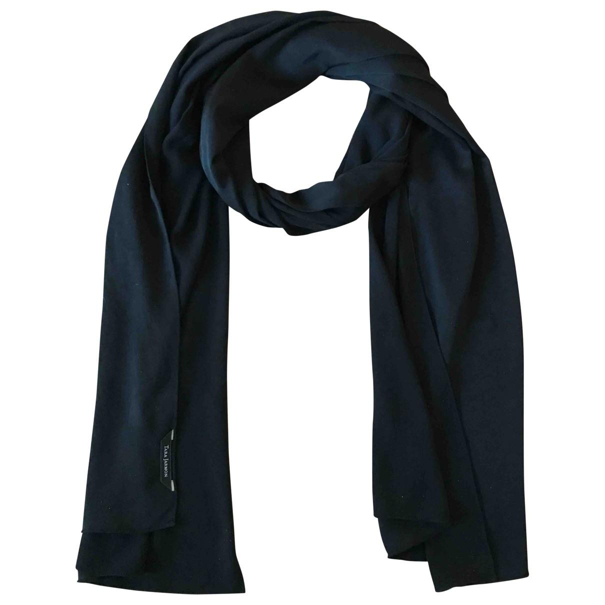 Tara Jarmon \N Black scarf for Women \N