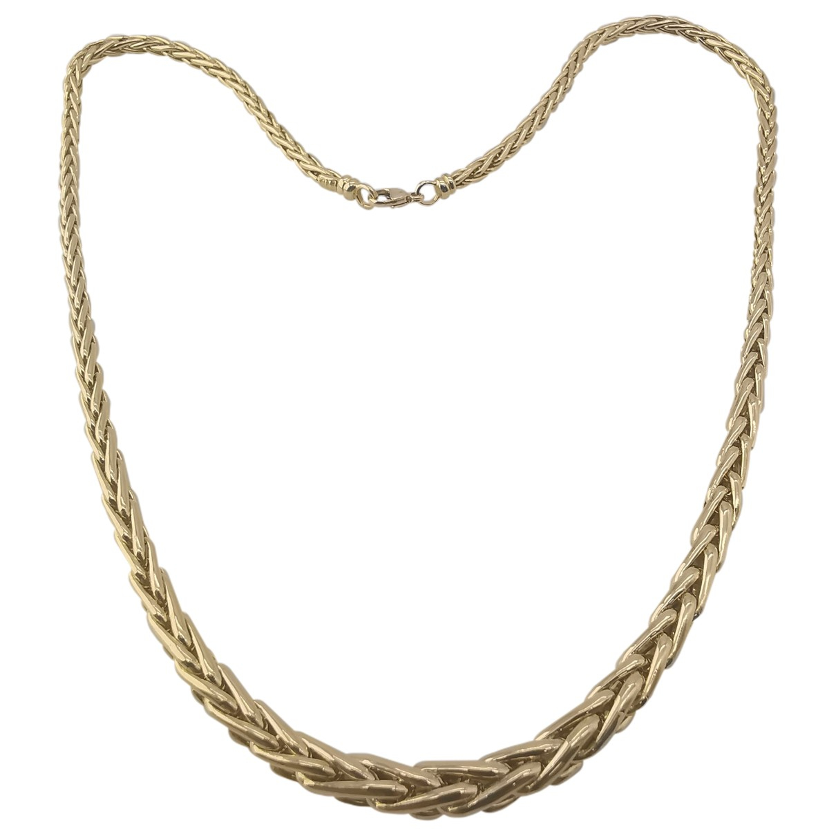 Non Signe / Unsigned Chaines Kette in  Gold Gelbgold