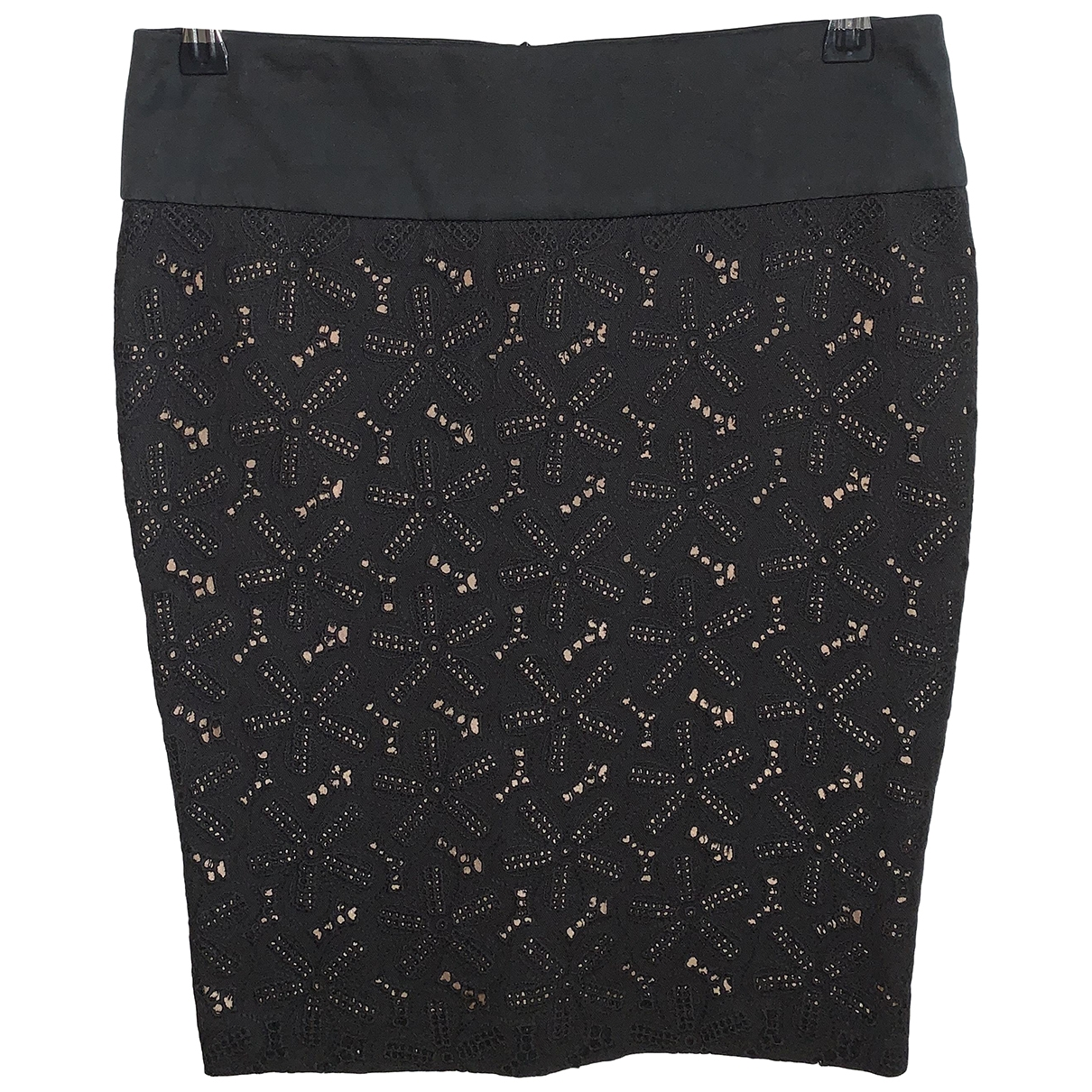 Pinko \N Black Cotton skirt for Women 38 IT