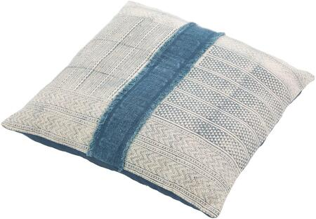 LL003-3030D 30 x 30 Pillow Kit  in Navy and Pale Blue and