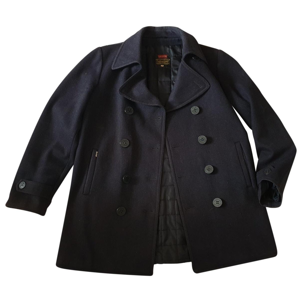 Levis - Manteau   pour homme en laine - anthracite