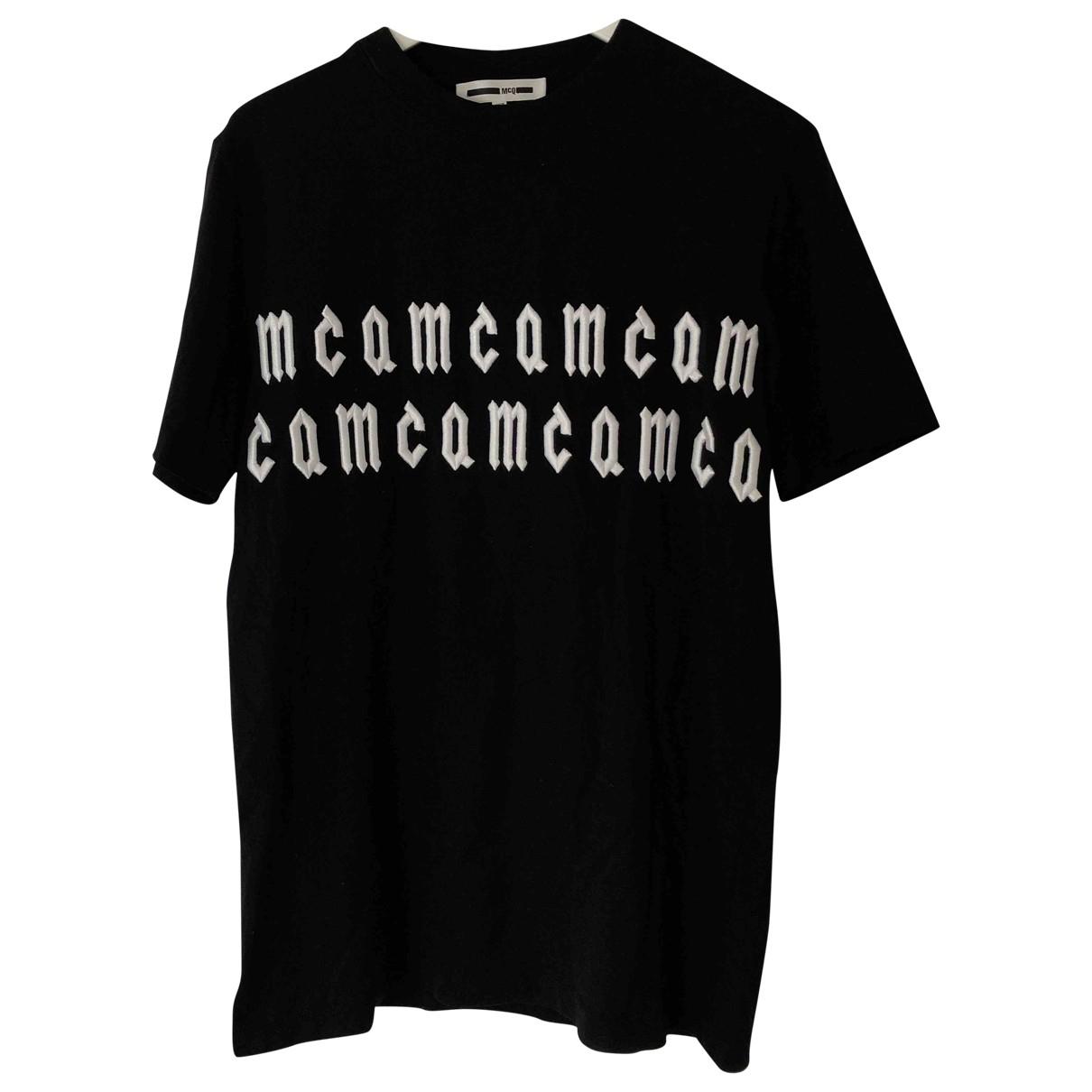 Mcq \N T-Shirts in  Schwarz Baumwolle