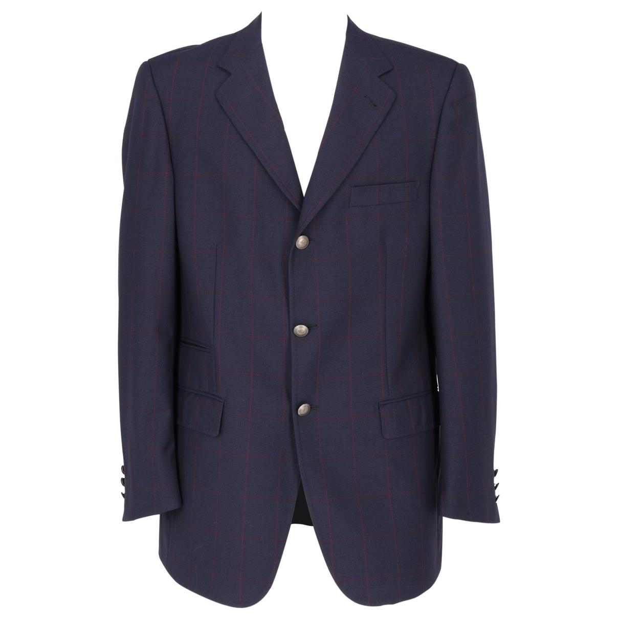Fay \N Blue Wool jacket  for Men 50 IT