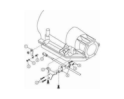 Winters 1095 Hardware Kit Turbo 400