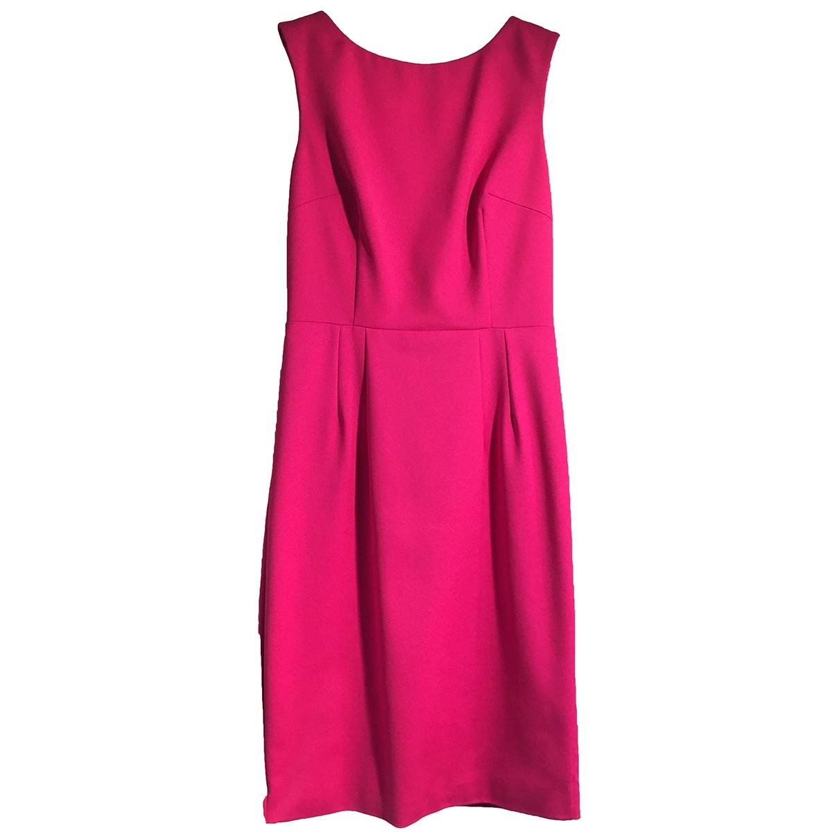 Flavio Castellani - Robe   pour femme en coton - elasthane - rose
