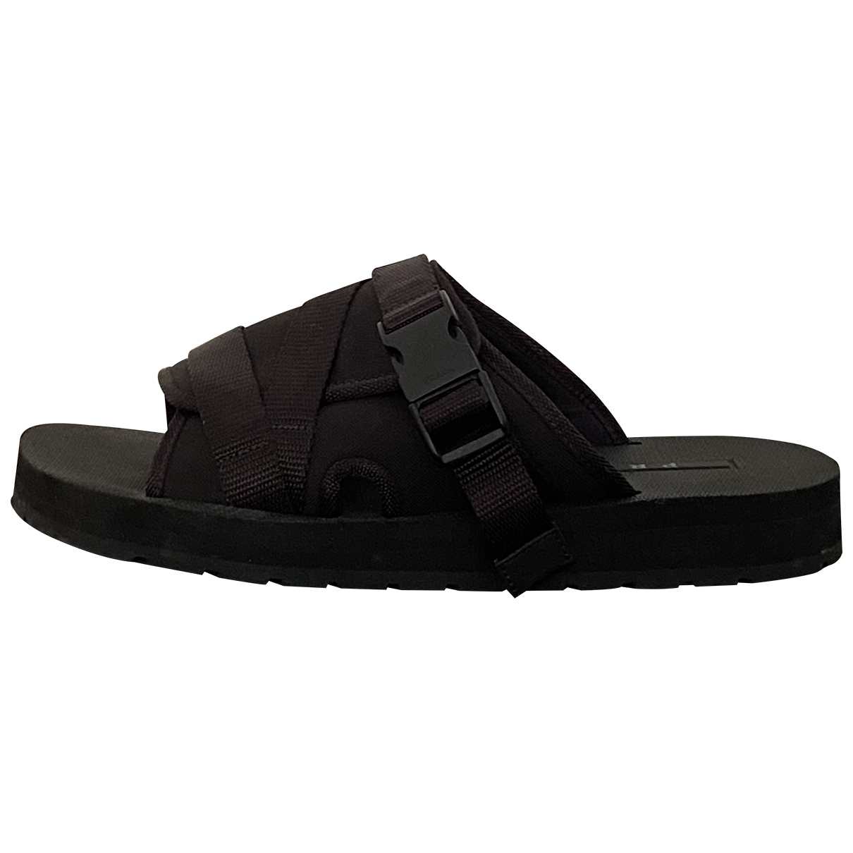 Prada \N Black Cloth Sandals for Men 41 EU