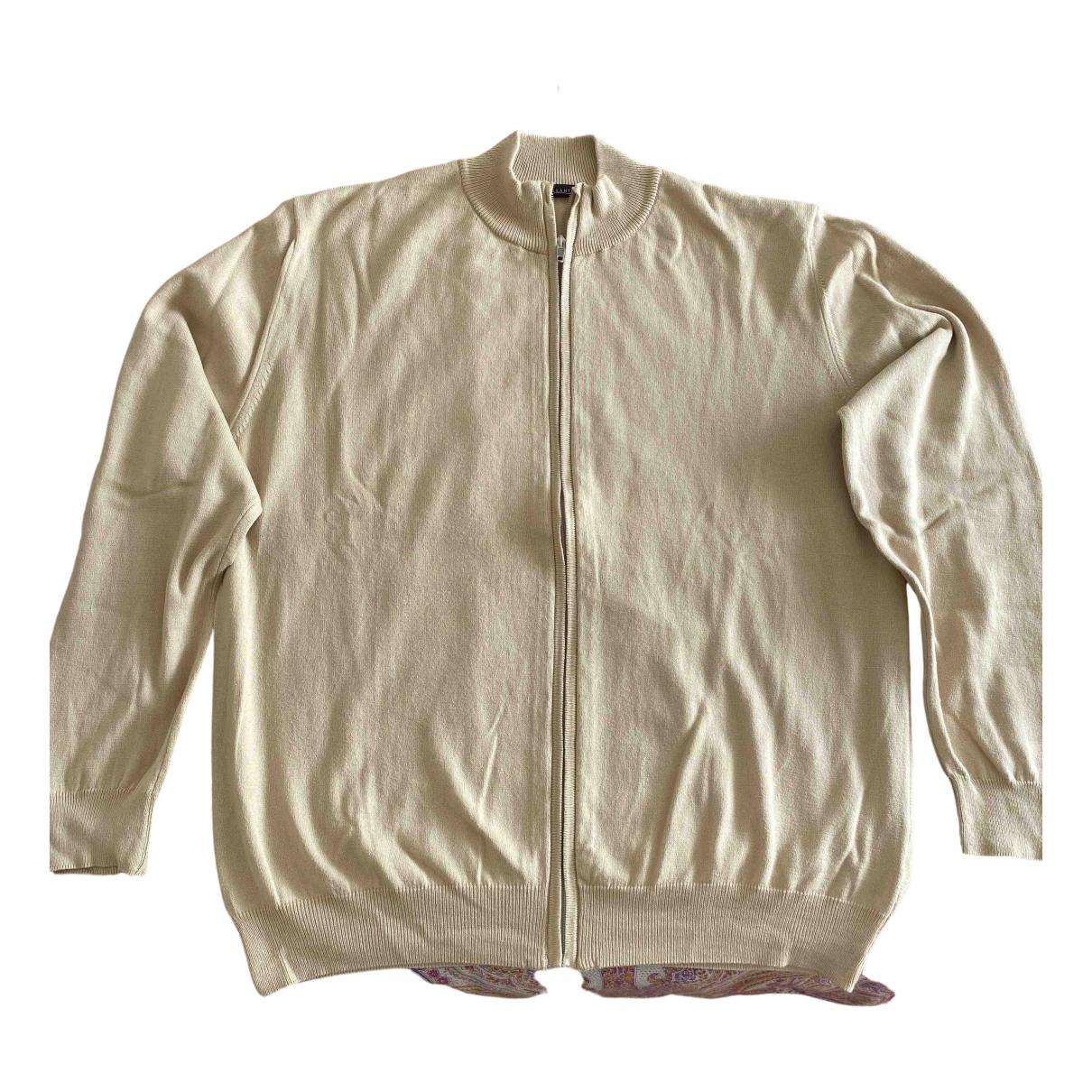 Ballantyne - Pulls.Gilets.Sweats   pour homme en coton - beige