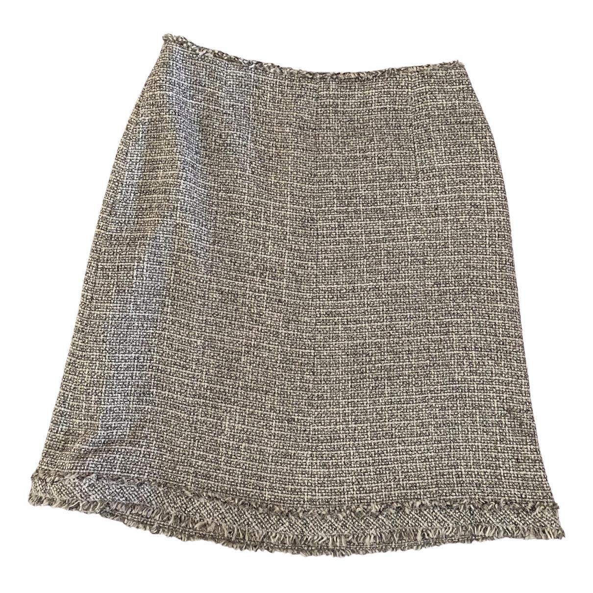 Chanel \N Grey Tweed skirt for Women 44 FR