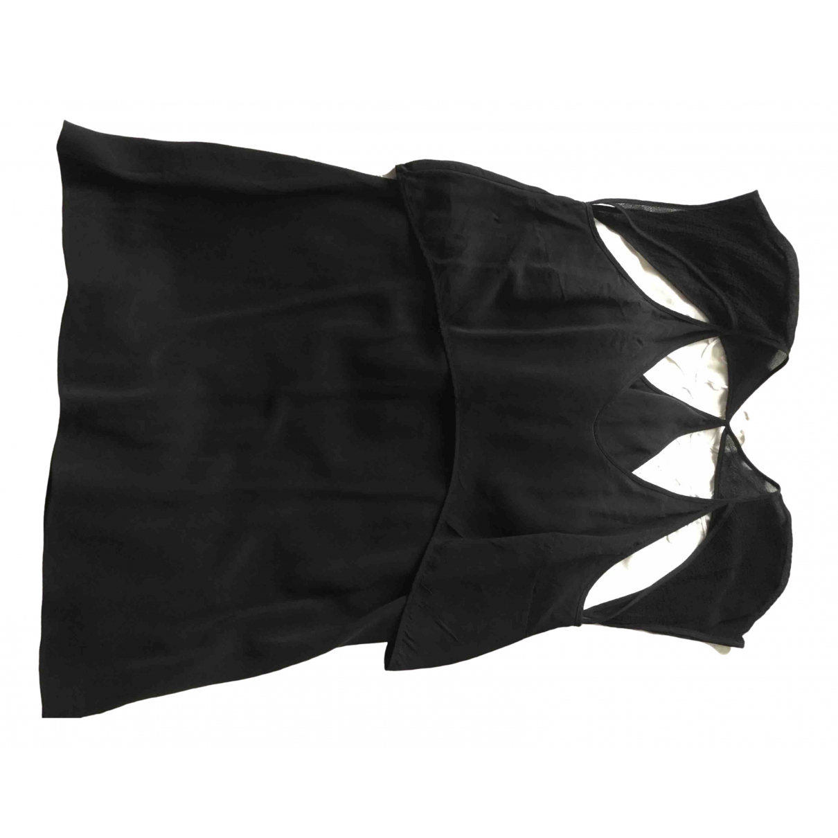 T By Alexander Wang \N Black Silk  top for Women 10 US