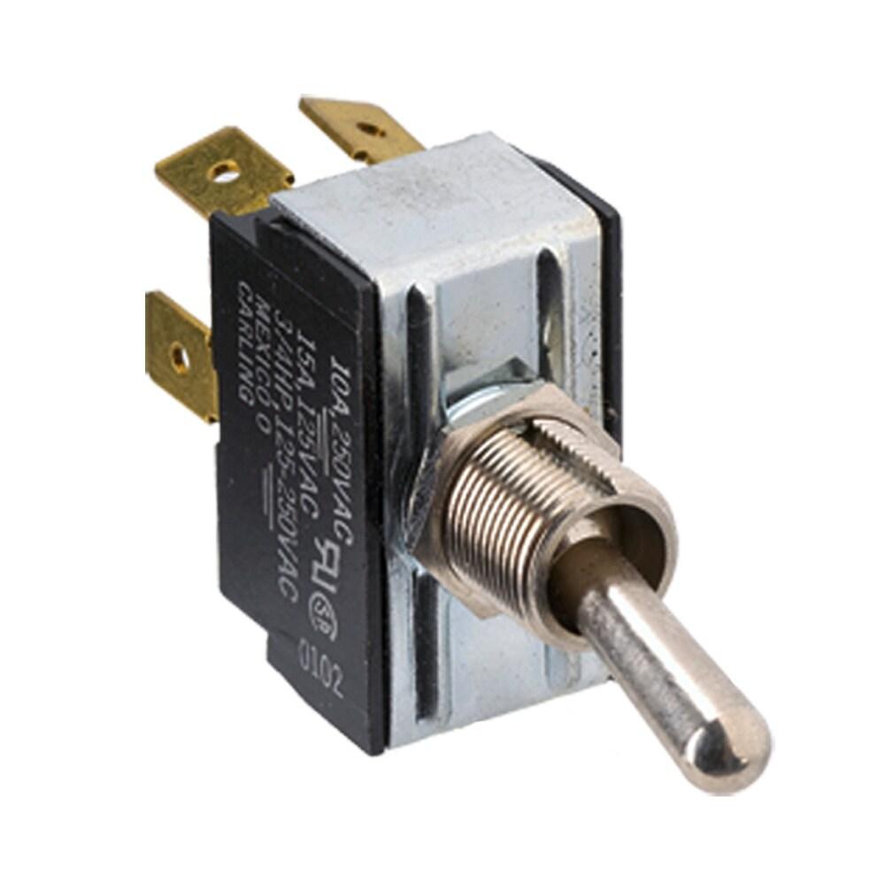 Paneltronics DPDT ON/OFF/ON Metal Bat Toggle Switch